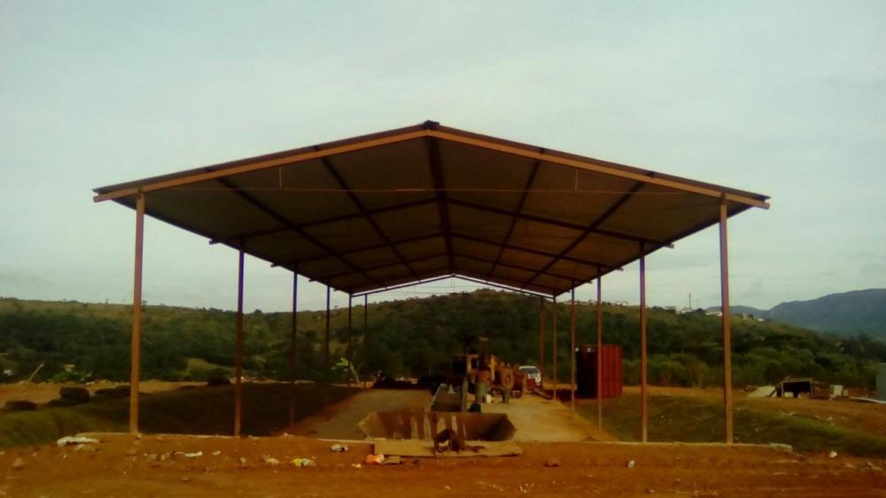 Bioaterro na cidade de Tiradentes - Fotos Prefeitura de Tiradentes