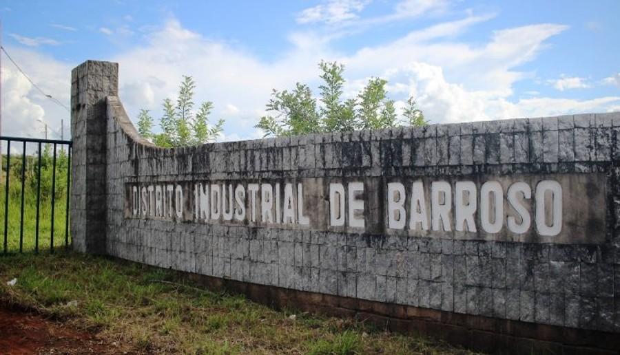 Distrito industrial de Barroso é implantado com apoio do governo estadual. - Foto divulgação