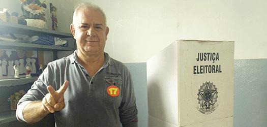 Nivaldo Andrade é favorito na pesquisa espontânea. Foto: reprodução