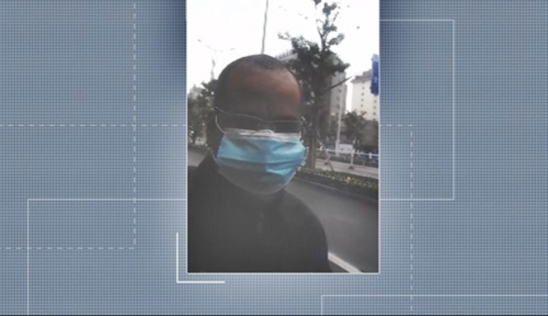Treinador de futebol de Lavras resume situação na China: 'Temos vivido dias tensos' — Foto: Reprodução EPTV.