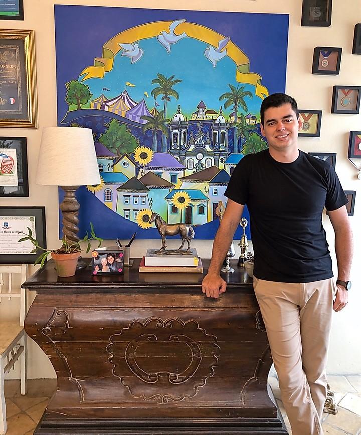São-Joanense Diego Mendonça é um dos expoentes das artes plásticas brasileira