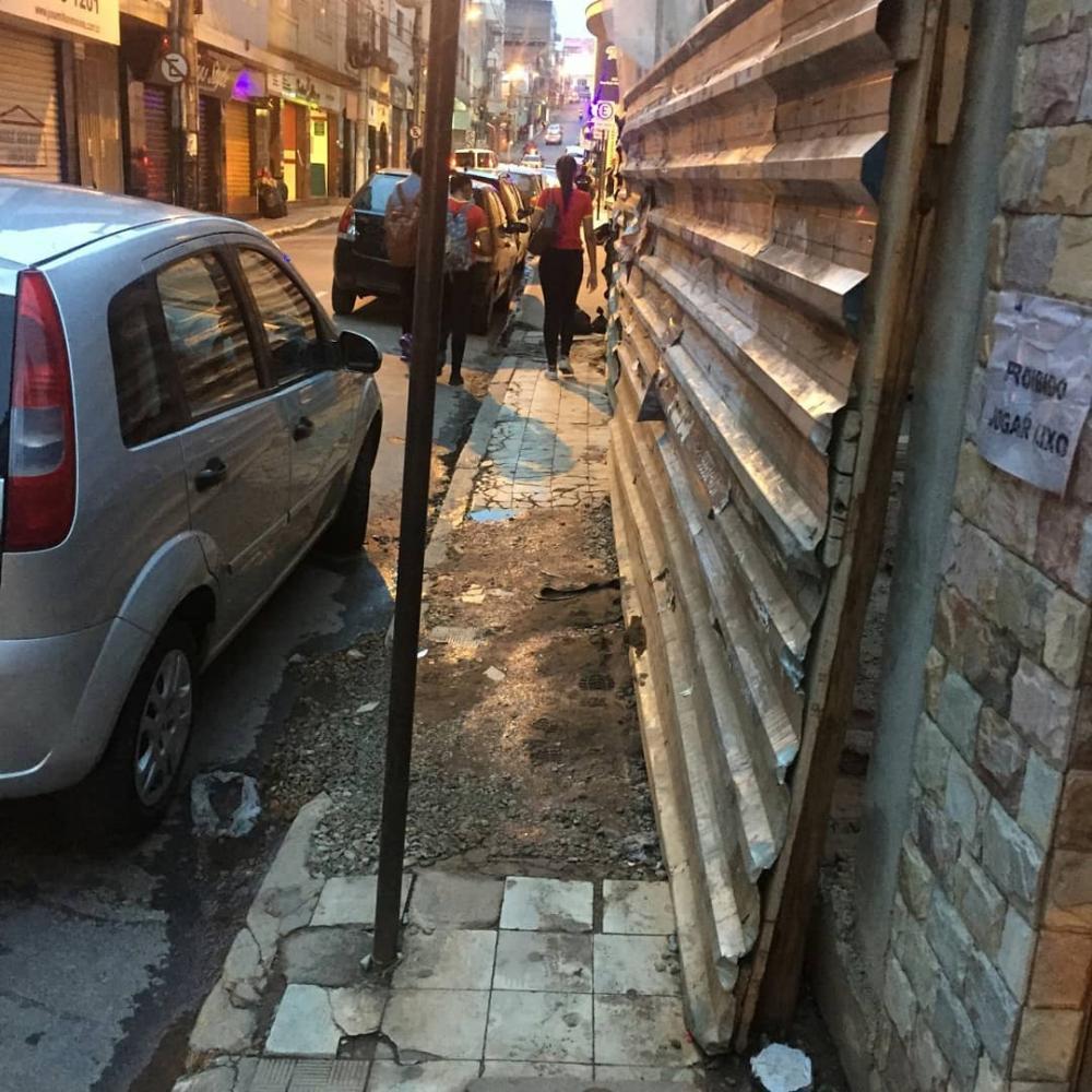 Ruas de Conselheiro Lafaiete. Fotos: Vertentes Online