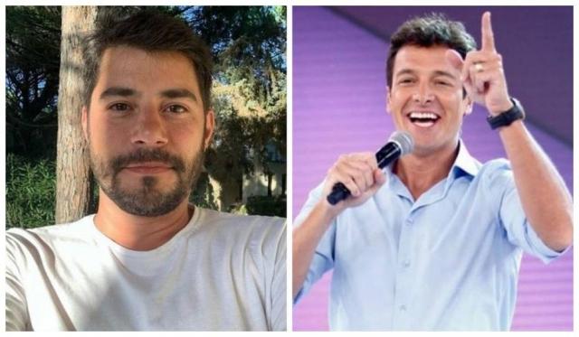 Os apresentadores Evaristo Costa e Rodrigo Faro. Foto: Instagram/@evaristocostaoficial/@rodrigofaro