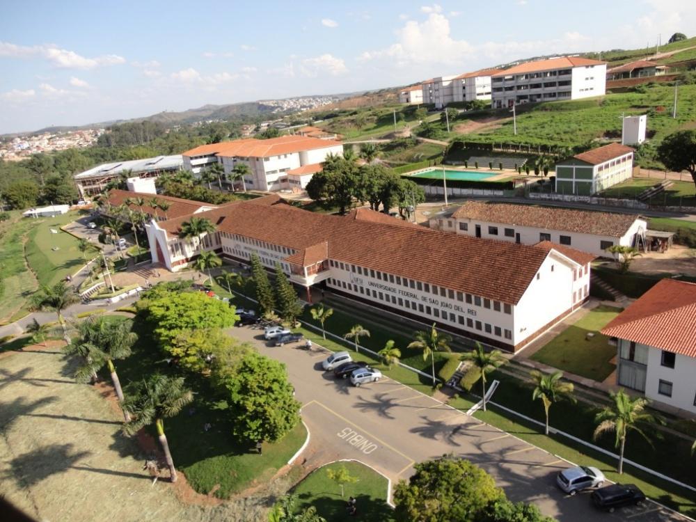 Campus Tancredo Neves da UFSJ. Foto: Reprodução
