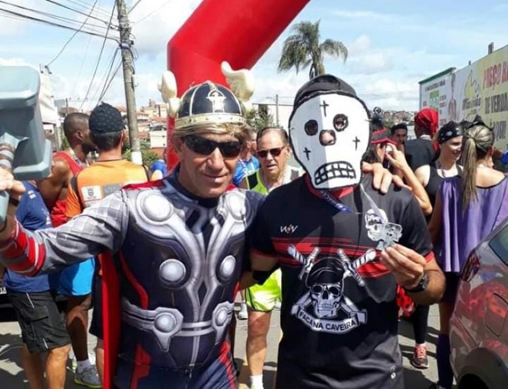 Corrida de Carnaval em Barbacena beneficia Lar Frederico Ozanam — Foto: Ronaldo Viannas/Divulgação