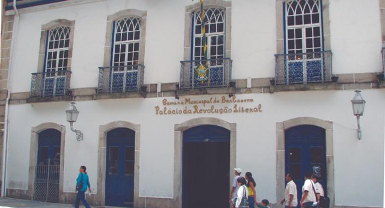 Câmara Municipal de Barbacena. Foto: Reprodução