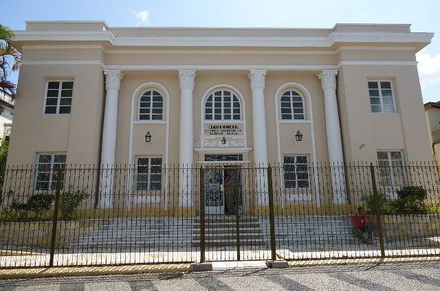 Câmara Municipal de São João del-Rei. Foto: Reprodução