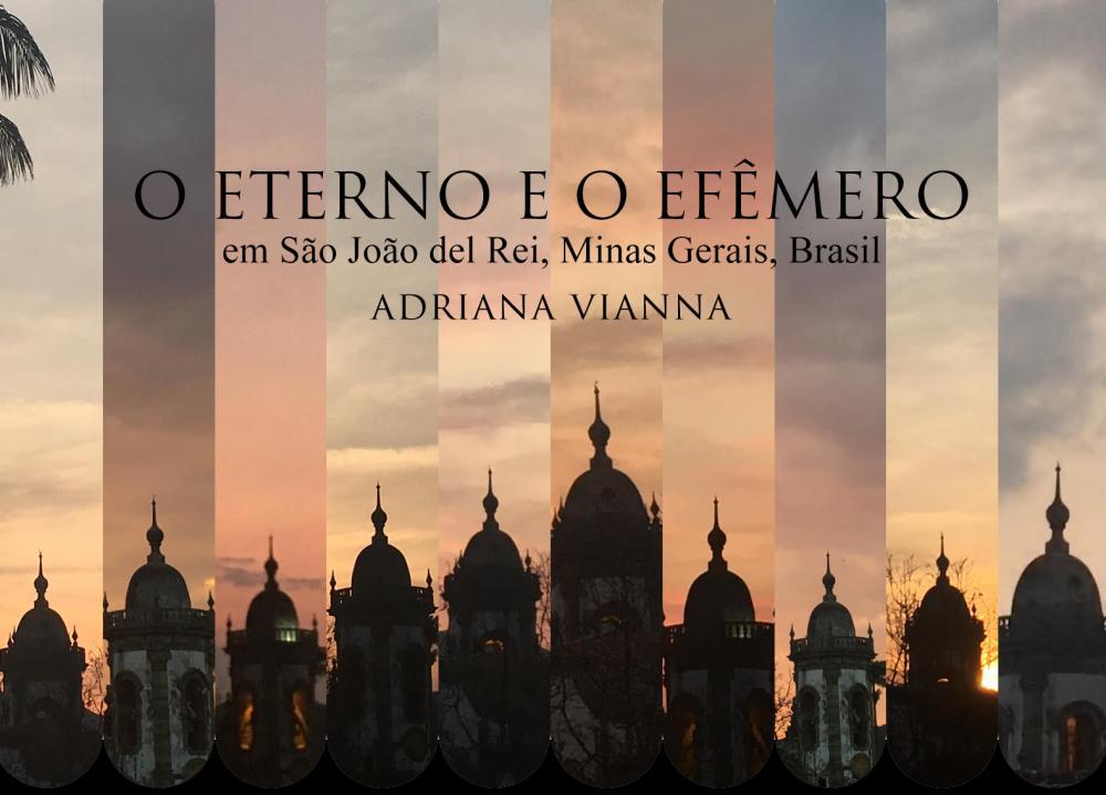Cartaz divulgação O Eterno e o Efêmero, da fotógrafa Adriana Vianna.