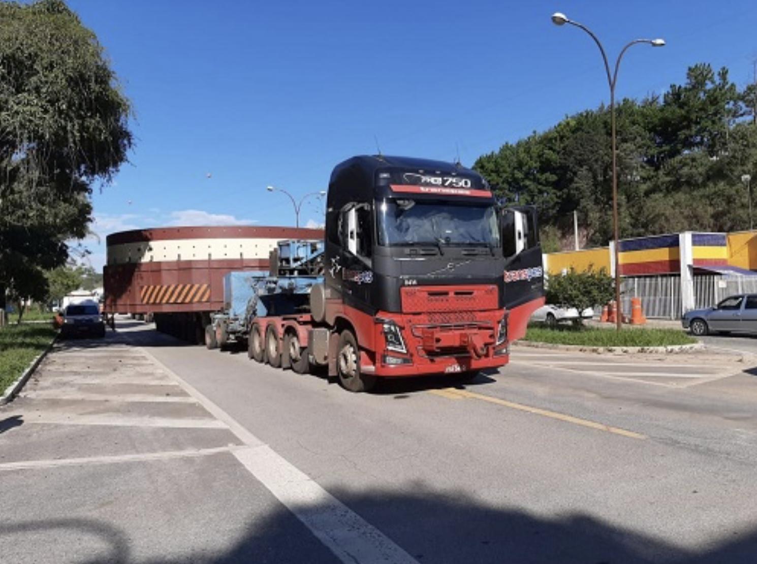 Transporte de carga provocará lentidão na BR 265 nesta quarta-feira (11)