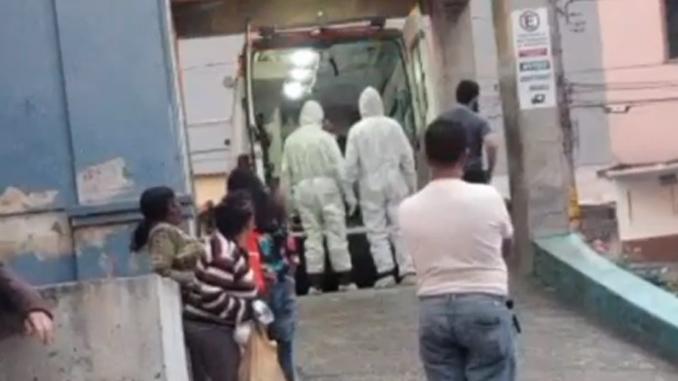 Caso suspeito de coronavírus em Barbacena. Foto: Reprodução vídeo das redes sociais