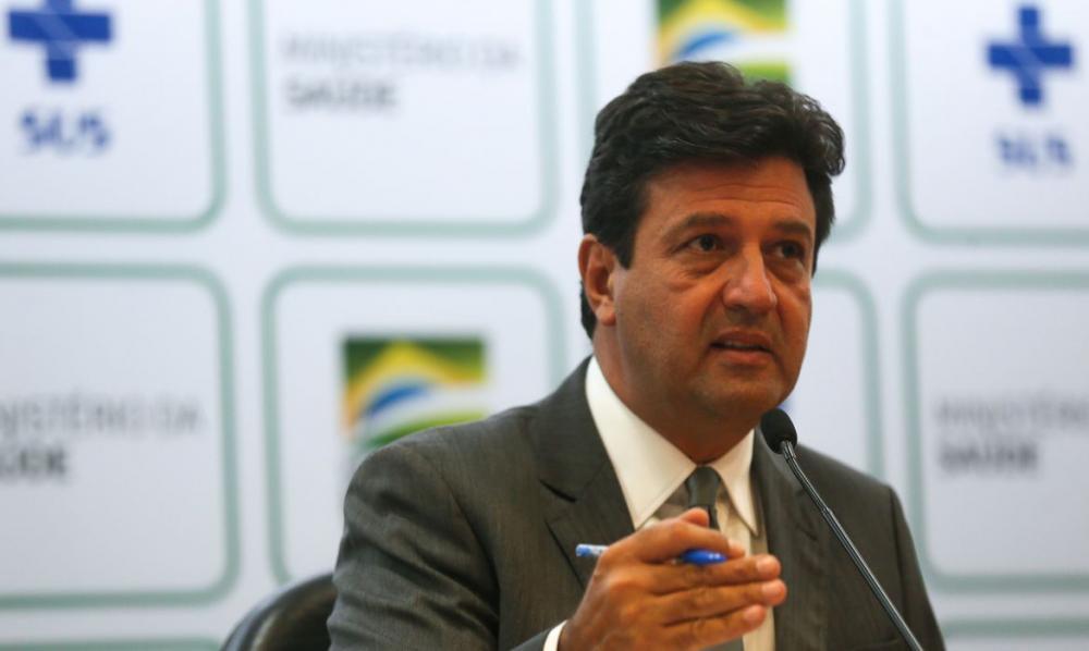 Ministro da Saúde, Luiz Henrique Mandetta. Foto: Agência Brasil
