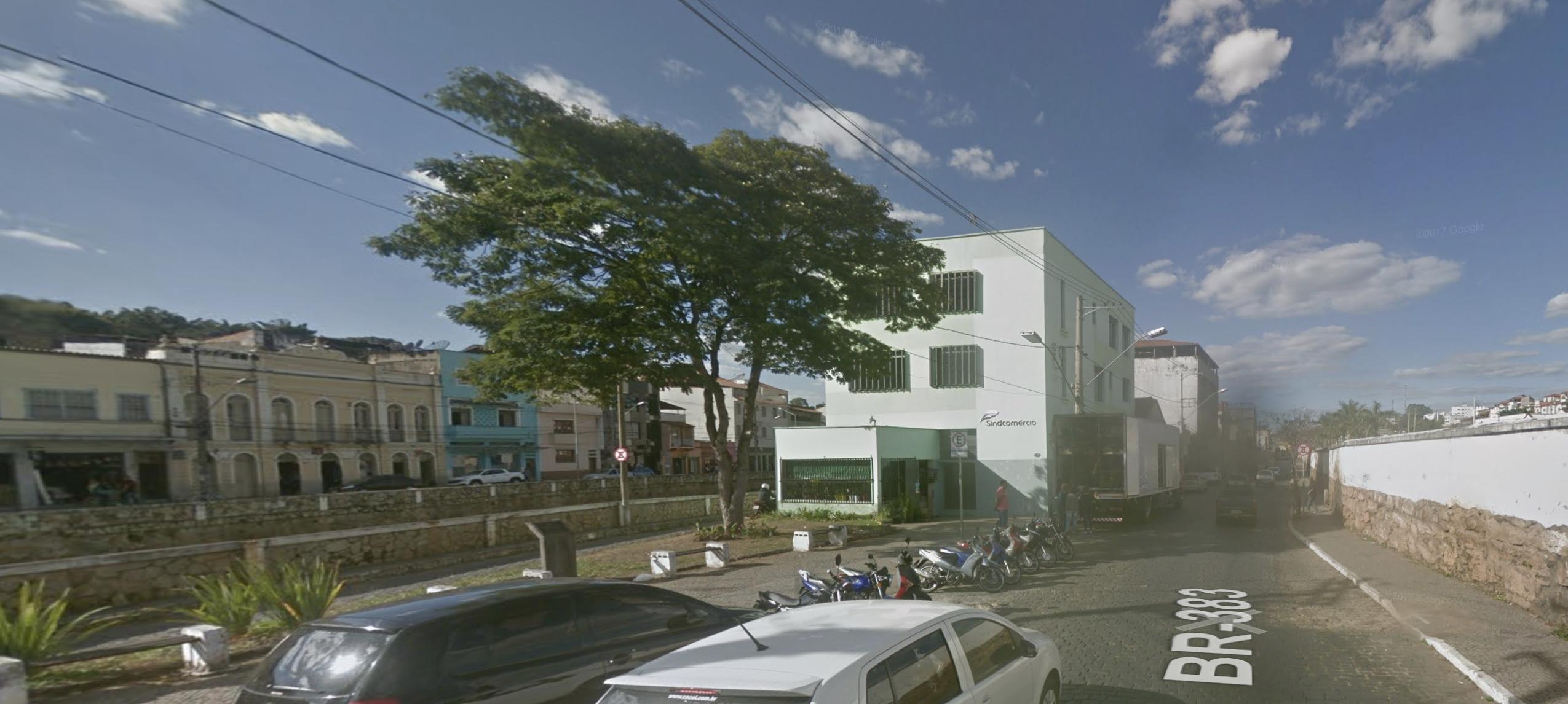 Sindcomérico de São João del-Rei. Foto: Google Maps