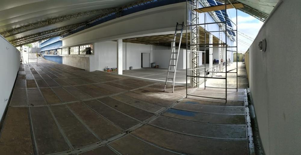 Lavras inicia construção de hospital de campanha com 30 leitos