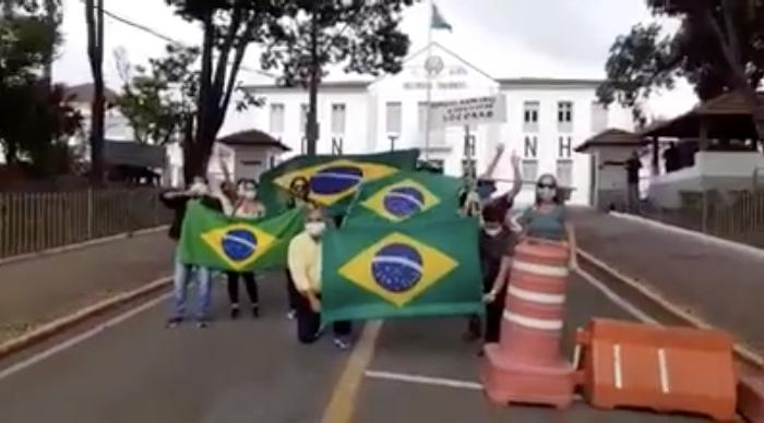 Foto: Reprodução vídeo manifestação SJDR