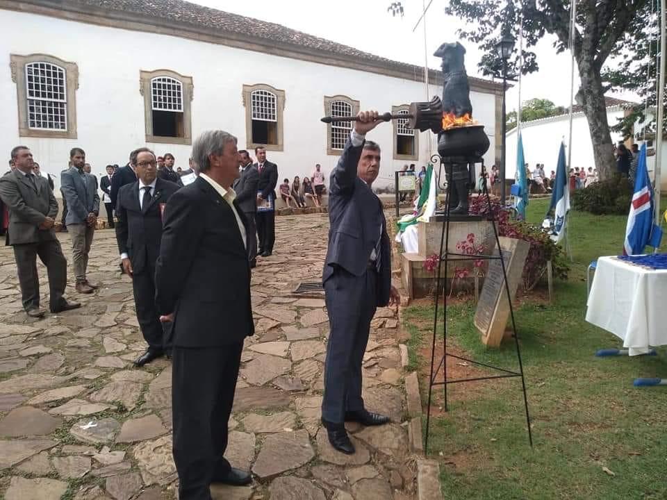 Tiradentes transmitirá pela internet homenagem a mártir da Inconfidência Mineira