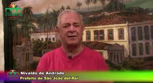 Nivaldo de Andrade (PSL) adora propagandear suas obras inacabadas ou mal feitas nas mídias da Prefeitura Municipal. Foto: Reprodução
