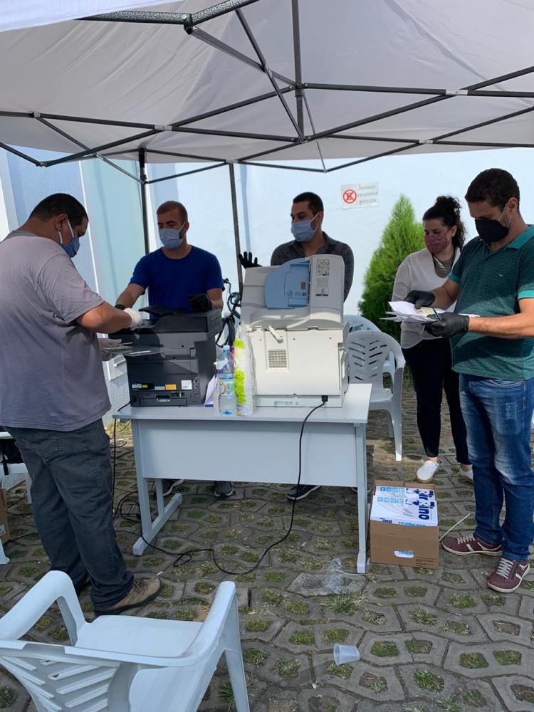 Prefeitura de Santa Cruz de Minas e AMVER realizam operação para ajudar a população na longa fila da CEF