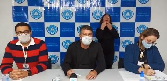 Barbacena chega a 27 casos confirmados para COVID-19, sendo 23 do próprio município