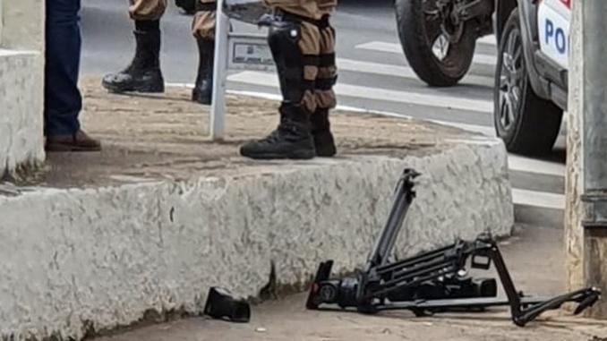 Jornalista da TV Integração é agredido em Barbacena