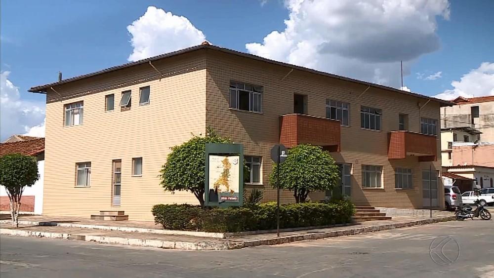 Prefeitura de Santa Cruz de Minas. Foto: Reprodução G1