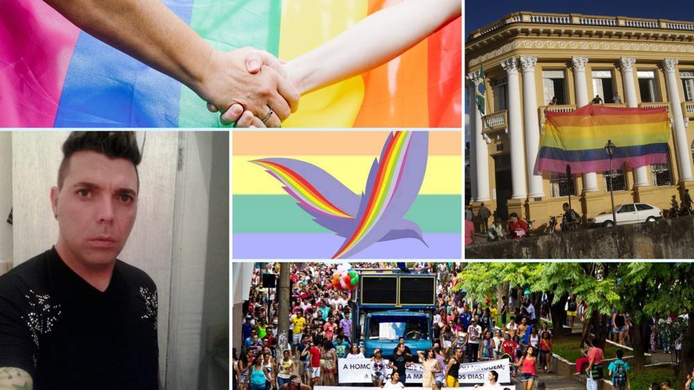 Fotos: Arquivo pessoal dos entrevistados e do Movimento Gay das Vertentes