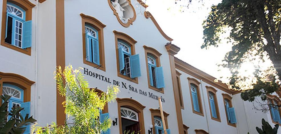 Hospital N.S. das Mercês em SJDR. Foto: Reprodução G1