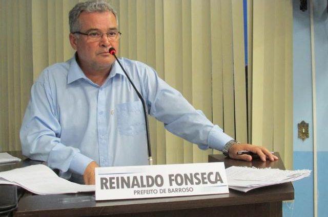 Prefeito Reinaldo Fonseca declara que não é candidato a reeleição em Barroso
